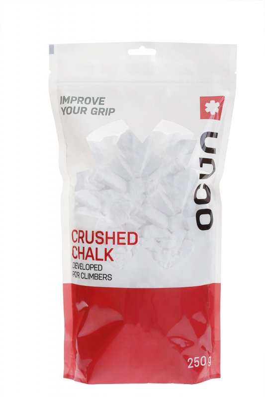 Ocun Chalk Dose Chalk RATTLE 250 g - crushed Magesium