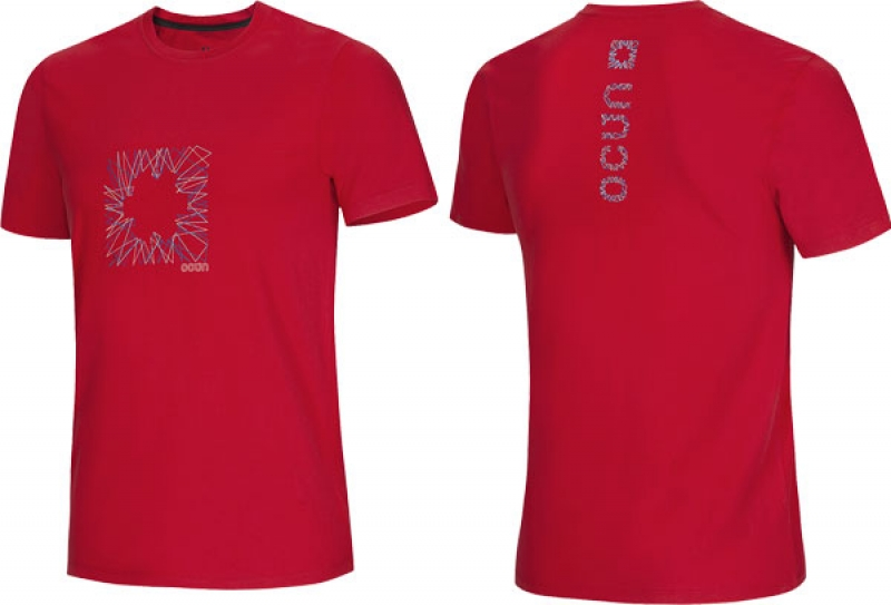 Ocun Dash Tee Men Red - Herren T-Shirt