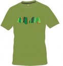 Ocun Asai Tee Men Pond Green - Herren T-Shirt